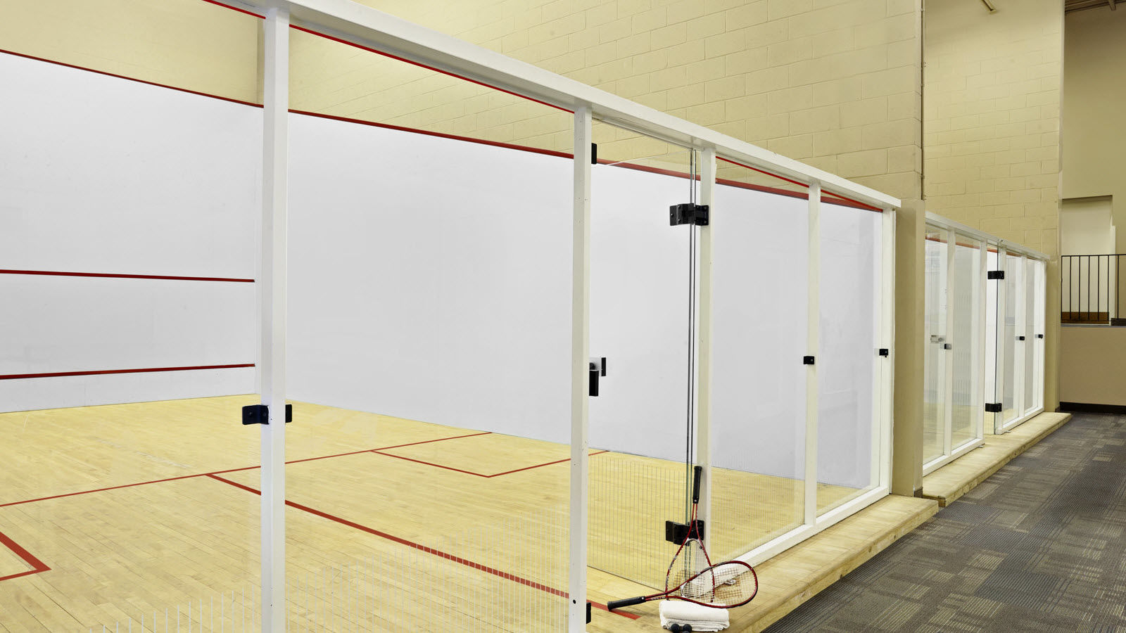 Health Club Racquetball Court